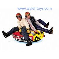 PVC Inflatable snow tube,inflatables water ski tube,thriller inflatable towable ski sled