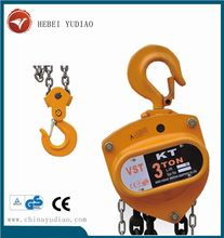 Triangle chain hoist manual chain block 2t handing pulling