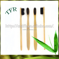 New products 2015 innovative wooden handles home use bamboo toothbrush