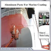 anti-rust and waterproof aluminum pigment, non-leafing aluminum paste for ocean ship paint primer