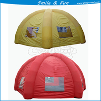 Inflatable air dome tent for sale for size 8m type inflatable with CE and good price