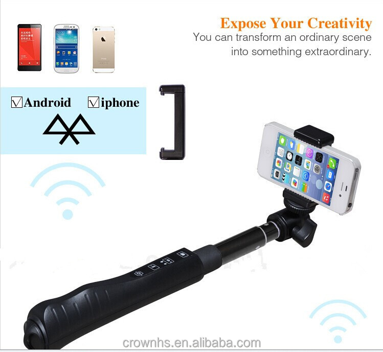 2015 merry christmas new nfc selfie stick monopod zoom bluetooth selfie stick buy new fashion. Black Bedroom Furniture Sets. Home Design Ideas