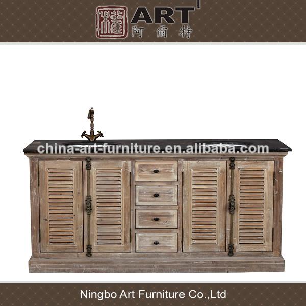 Muebles De Baño Antiguos:antiguo cuarto de baño muebles de diseño europeo reciclado de madera