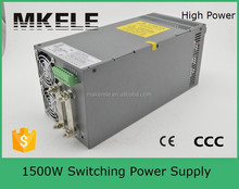 SCN-1500-48 high voltage power CE approved 48v 30a switching power supply with PFC