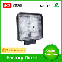 Factory directly offer 15W led work lamp,led work light bar for 4x4 jeep off road