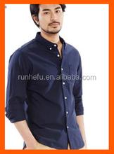 2015 latest design for men casual shirt