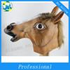 Wholesale halloween latex full head horse head masks