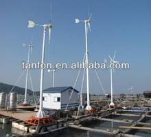 De alta potencia 2kw3kw generador de energía eólica/de turbina de viento generador de imán permanente/3kw de energía eólica