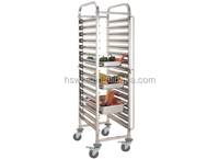 Welcome To Contact Us To Customized Products Of Stainless steel Rack Trolley 15-layers for bread oven