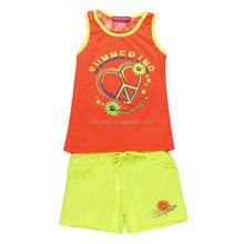 Girls children cotton t shirt set,Kids Clothes Sets Girls Cartoon Suits, Children Clothing Set Girls Printing T shirt Sets
