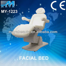 My-1223 2015 top PU massage SPA furniture motor electric massage bed/electric facial bed with 4 motors (CE Certification)