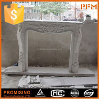 Hand Carved Cheap gas stone fireplaces