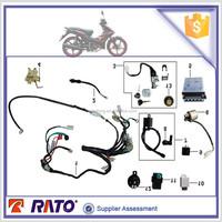 ITALIKA AT110 motorcycle parts,CDI,voltage regulator,battery,lock kit