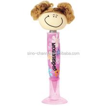 2015 Wholesale fineness custom pink pen