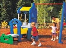 chirdren slide and swing, china children's playground equipment,outdoor park games