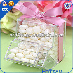 clear acrylic candy box /container