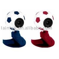 Aucun pilote USB de l'ordinateur USB2.0 football web caméra avec microphone intégré