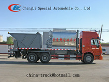 8CBM road construction equipment synchronous chipsealer