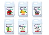 2015 new Blue-King liquid hand soap with Vitamin E in Bulk