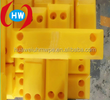 Shandong NingJin huawei supply High impact resistant uhmw-pe fender facing pad