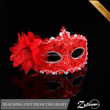 2015 Newest Unique Design Feather Venetian Decorative Women Party Halloween Mask