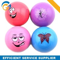 Popular Cute Printed Flashing Bouncy Ball