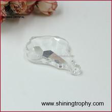 2015 wholesale machine cut crystal pendant for chandelier