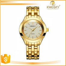 wholesale trendy couple lover wrist watch stainless steel back