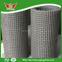 """1/2"""" hot dip galvanized welded wire mesh after welding made in china"""