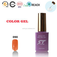 2015 Cosmetic gel led uv nail gel polish with curing lamp for gel polish cosmetic