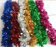 new year decorate christmas tinsel hot sale made in china