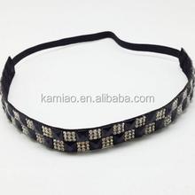 2014 elastic hairband natural stone hair accessories hair headband for girl