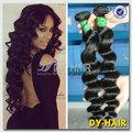 barato y 6a diferentes estilos de cabello humano brasileña extensiones de cabello negro para las mujeres