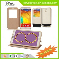 tpu and pc trunk phone case leather with great price for Samsung Galaxy NOTE 3