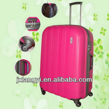 2013 New style ABS PC trolley travel Luggage Set/Lightweight Hardside trolley luggage bag/4 wheels abs trolley luggage