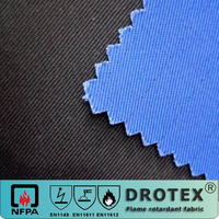 100% cotton high strength Proban fire resistant treated canvas fabric for protective tent