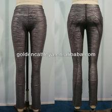modesto gd201305 pantalón gris papel de las mujeres sexy vestido de vendaje