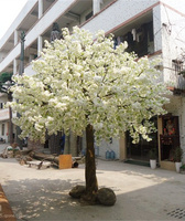 high quality 3m artificial indoor cherry blossom tree for wedding decoration
