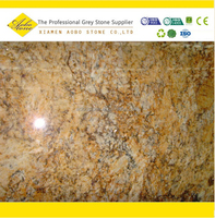 Poished brazil imported Golden persa brown granite tiles for sale