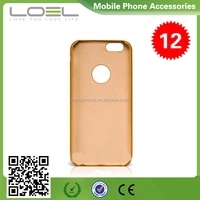 Premium Leather Case for iPhone 6, For iPhone 6 Case Cheap Leather/PU Leather Back Cover Optional BO-CPI6002(3)