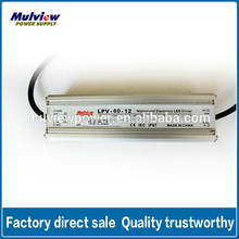 Waterproof Electronic Dimmable 12V 5A LED Driver With CE FCC