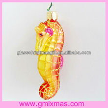 indoor xmas ornament Cute and Popular Christmas Glass Decoration Supplies