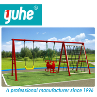 Yuhe brand hot selling high quality children outdoor swing sets