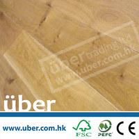 Brushed Natural Oiled parquet(European White Oak) Engineered Flooring Wood