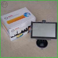 5inch Car gps navigator With DVR FM AV-IN Bluetooth ISDB-T Function