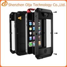 Gorilla Glass metal waterproof case for iphone 5s,new products waterproof case for iphone 5