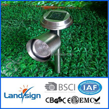 China oem manufactures led garden lights outdoor spike light for garden/pathway/outdoor use high power solar spotlight