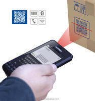 IP65 Android Rugged industrial HF RFID reader,2D barcode scanner phone with 3G,GPRS/GSM,GPS,wifi,bluetooth,CE certification