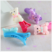 JP8026 New design Pink resin bear pressure clamp 2015