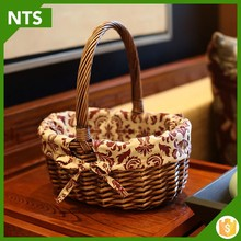 NTS Custom Eco-fridendly Rattan Storage Basket